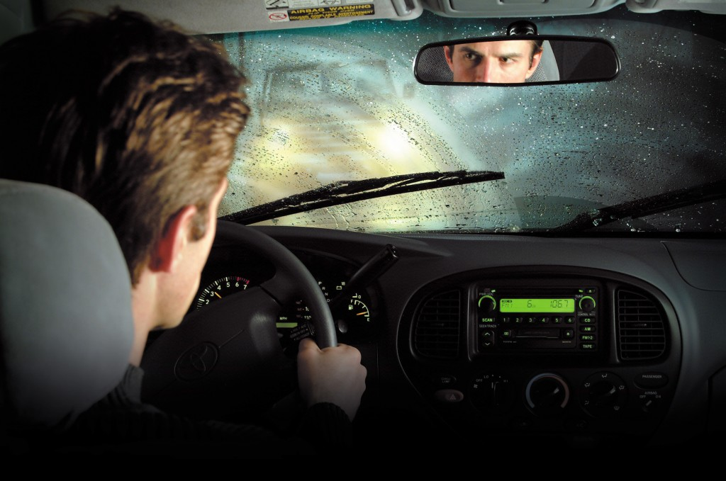 Driving during rain 1